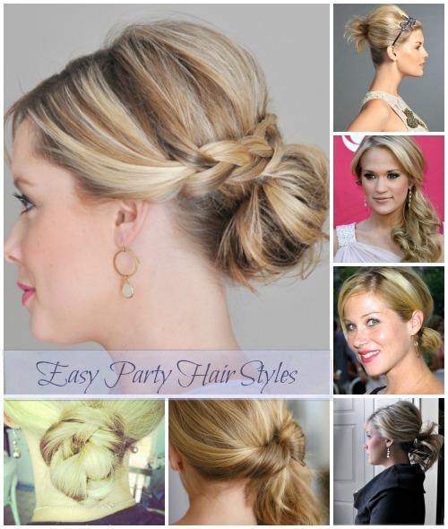 10 Easy Party Hair Styles Jen Schmidt